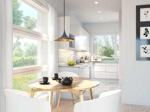 Myytävät asunnot Espoo Saunaniemi: Saunaniemen Sirrin keittiö 2