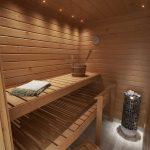 Myytävät asunnot Espoo Saunaniemi: Saunaniemen Sirrin saunatilat