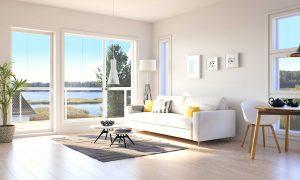 Myytävät asunnot Espoo Saunaniemi: Saunaniemen Sirrin olohuone 2